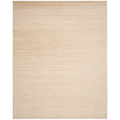 Adirondack Champagne/Cream (Beige/Ivory) 8 ft. x 10 ft. Area Rug - Home Depot