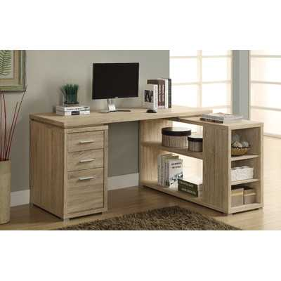 Drewes L-Shaped Computer Desk - Wayfair