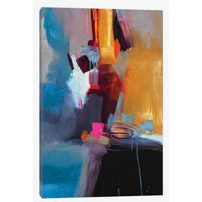 Jazzy Abstract VII Painting Print on Wrapped Canvas - Wayfair