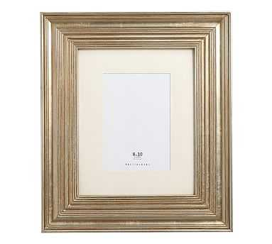 "Eliza Gilt Picture Frame, 8 x 10"" Wide Frame, Champagne Gilt finish - Pottery Barn"