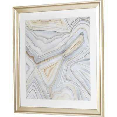 'Agate' Picture Frame Painting - Birch Lane
