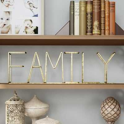 "Menefee ""Family"" Free-Standing Decorative Table Top Sign - Wayfair"