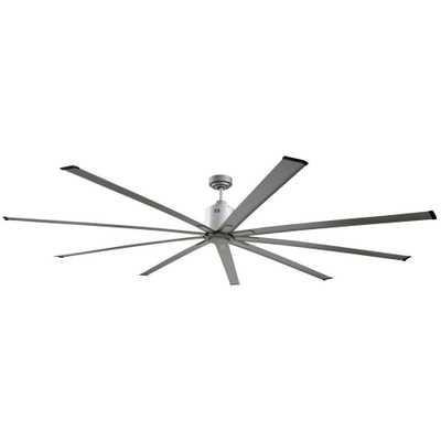 Big Air 72 in. Indoor Metallic Nickel Industrial Ceiling Fan with Remote Control - Home Depot