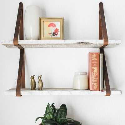 Littleton Hanging 2 Piece Wall Shelf Set - Wayfair