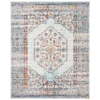 Mirari Blue/Gray Area Rug - Wayfair