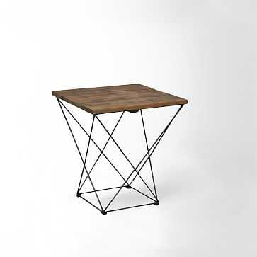 Angled Base Side Table - West Elm
