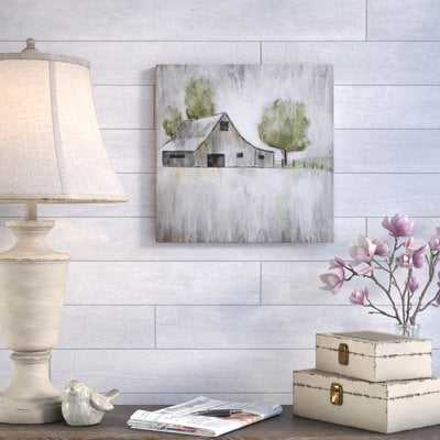 'Weathered Barn' Print on Canvas - Wayfair