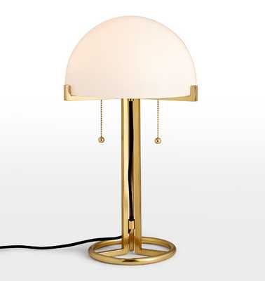 Altadena Glass Shade Table Lamp - Rejuvenation