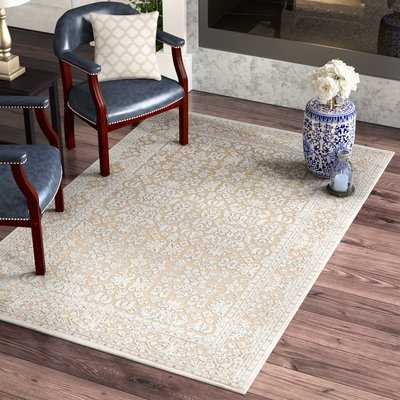 Harting Hand-Tufted Warm Sand Area Rug - Wayfair