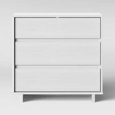 Modern 3 Drawer Dresser White - Room Essentials - Target