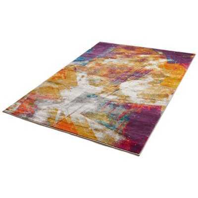 Felicienne Modern Abstract Area Rug - Wayfair