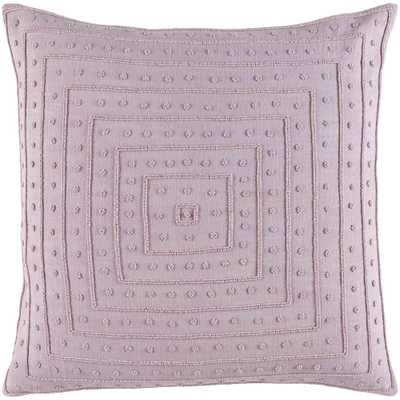 Athelstane Poly Euro Pillow, Purple - Home Depot