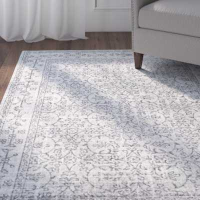 Utterback Gray Area Rug - Wayfair