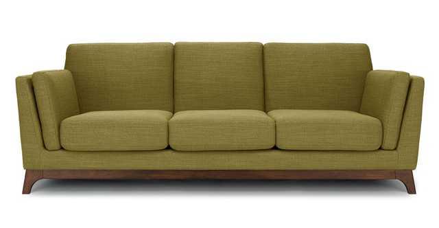 Ceni Seagrass Green Sofa - Article