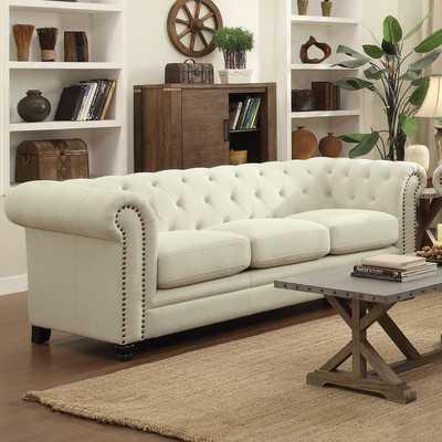 Dalila Upholstered Chesterfield Sofa - Wayfair