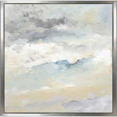 'Sea Meets Sky I' Acrylic Painting Print - Wayfair