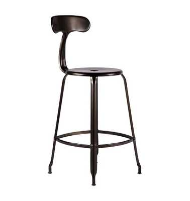 Nicolle Counter Stool with Back - Rejuvenation