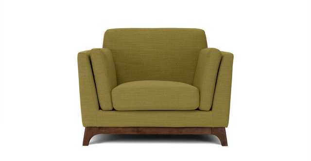 Ceni Seagrass Green Armchair - Article