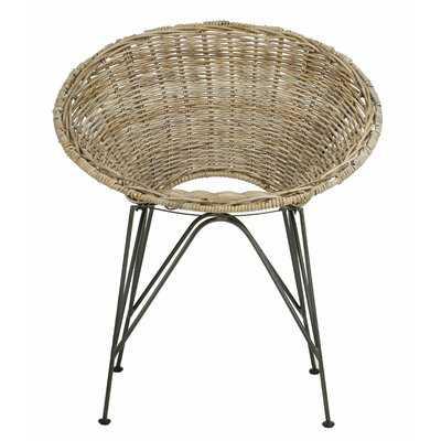 Brinker Rattan Papasan Chair - Wayfair