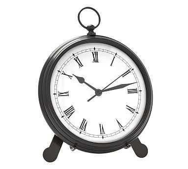 Pocket Watch Clock, Large, Bronze finish - Pottery Barn