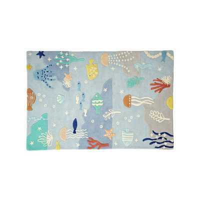 Under the Sea 5 x 8' Rug - Crate and Barrel