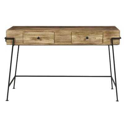 Stanger Solid Wood Writing Desk - Wayfair