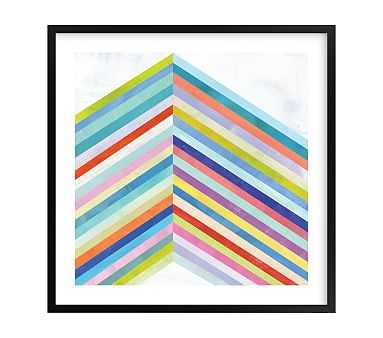 Converge Wall Art by Minted(R), 24x24,Black - Pottery Barn Kids