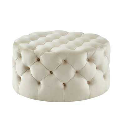 Brentley Tufted Ottoman - Wayfair