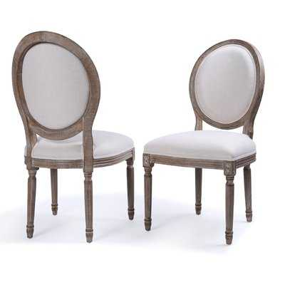 Agda Classic Elegant Traditional Upholstered Dining Chair - Wayfair