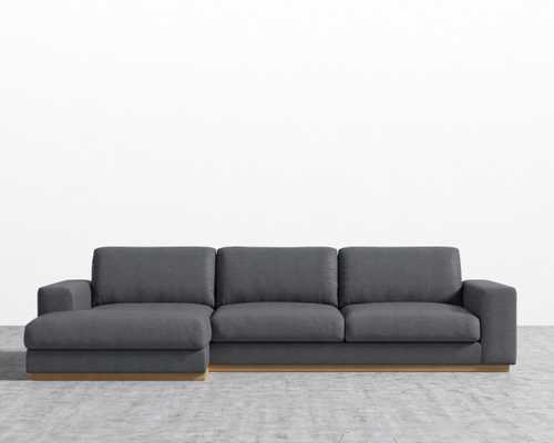 Noah Sectional - Narwhal  Left-hand-facing - Rove Concepts