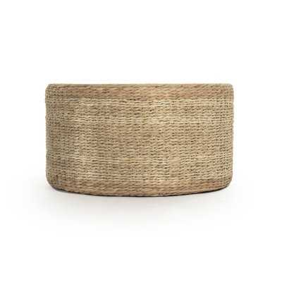 Ahlers Cocktail Ottoman - Wayfair