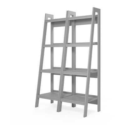 Rupert Ladder Bookcase (Set of 2) - Wayfair