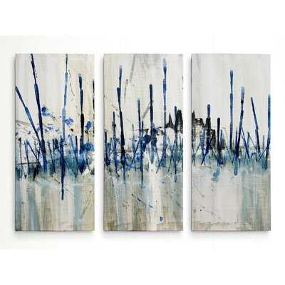 'Marshes Edge' Acrylic Painting Print Multi-Piece Image on Wrapped Canvas - Wayfair