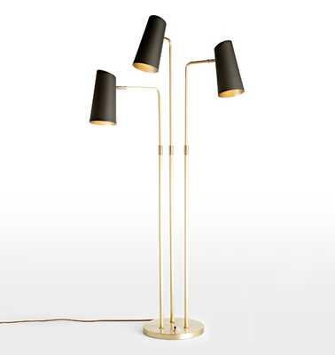 Cypress 3-Arm Floor Lamp - Rejuvenation