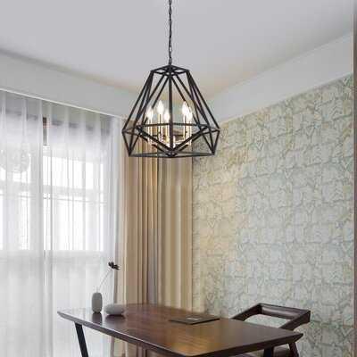 Destin Industrial Metal Modern Pendant Lighting Fixture 5 Lights - Wayfair