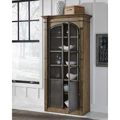 Aahil Curio Cabinet - Wayfair