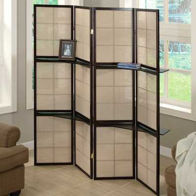 Ellayne 4 Panel Room Divider - Wayfair
