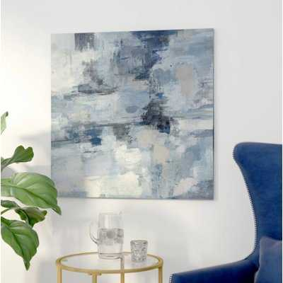 In the Clouds by Silvia Vassileva - Wrapped Canvas Print - AllModern