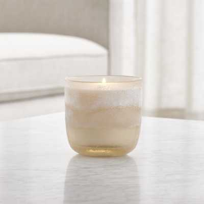 Coconut Milk Mango Mojave Glass Candle - Crate and Barrel