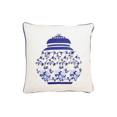 Welden Chinoiserie Pillow Cover - Wayfair