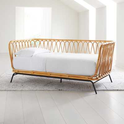 Rattan Twin Daybed - Crate and Barrel