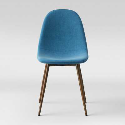 Copley Upholstered Dining Chair - Teal (Blue) - Project 62 - Target