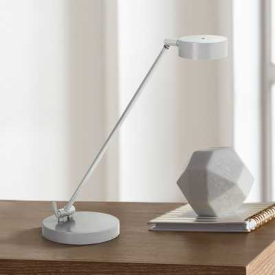 House of Troy Generation Platinum Gray LED Desk Lamp - Style # 1D736 - Lamps Plus