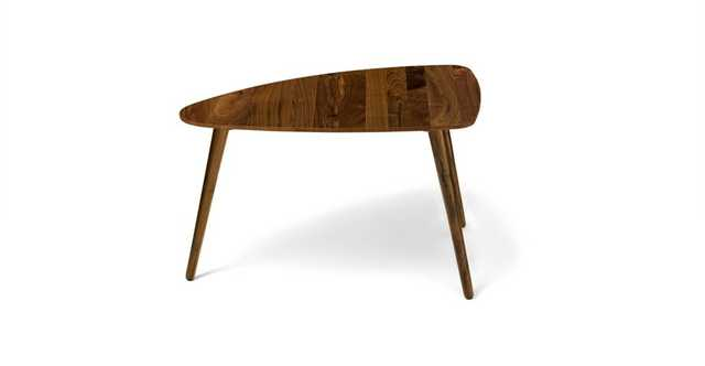 "Amoeba Wild Walnut 29.5"" Wide Coffee Table - Article"
