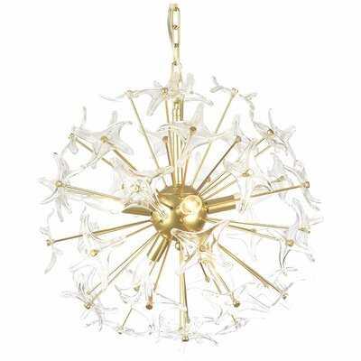 Yeomans 6-Light Sputnik Chandelier - Wayfair