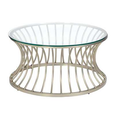 Coffee Table Silver, Nickle - Target