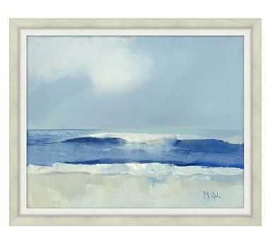 """Wave Reflections by Marth Spak, 25.5 x 21"""" - Pottery Barn"""