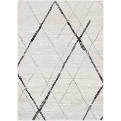 Laurine Black/White 5 ft. x 8 ft. Area Rug - Home Depot