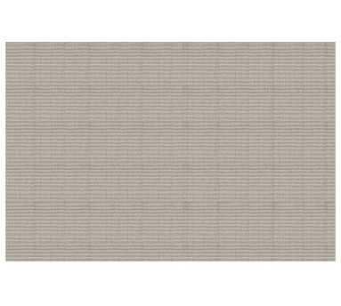 Arlo Broadloom Rug, 15 x 18', Heathered Gray/Ivory - Pottery Barn
