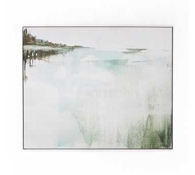 "Sanctuary V Framed Canvas, 40"" x 30"" - Pottery Barn"